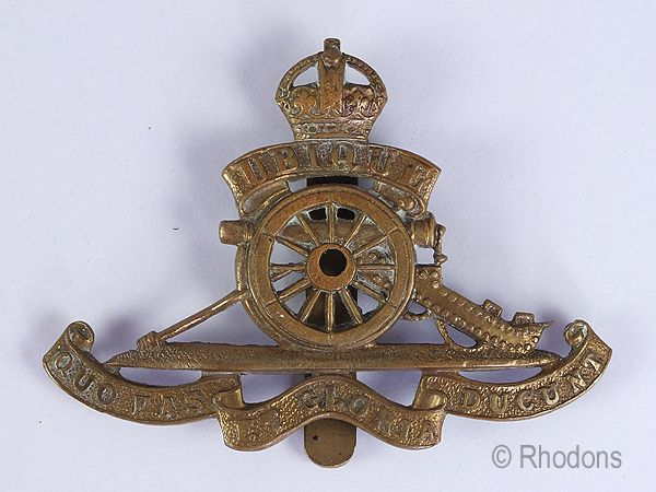 Original Royal Artillery Regiment Cap Badge