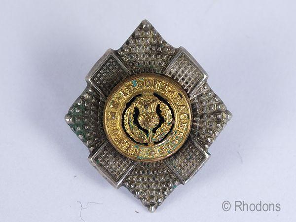 Royal Scots Regiment Collar Badge