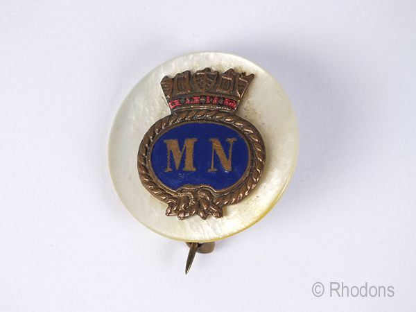 WWII Merchant Navy Sweetheart Brooch