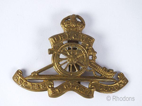 The Royal Regiment of Canadian Artillery Cap Badge