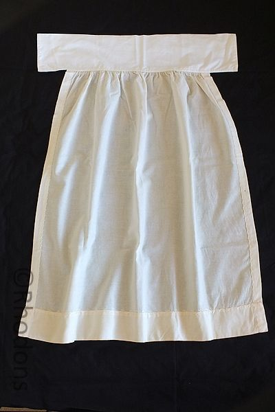 Antique Wool Flannel Baby Petticoat /Slip