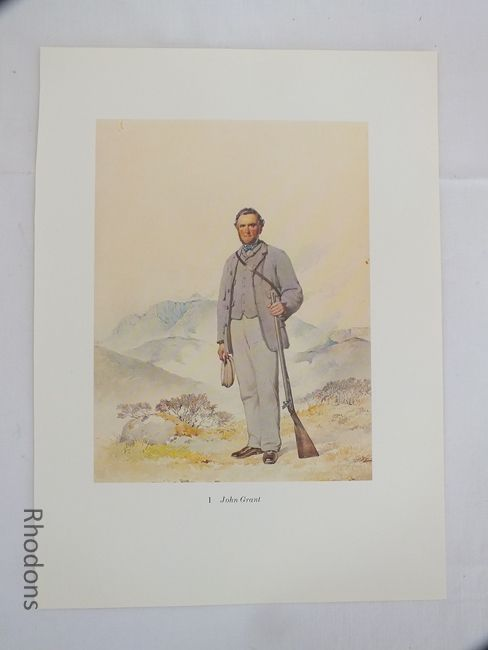 John Grant 19th Century Scottish Clansman Print By Kenneth Macleay RSA.