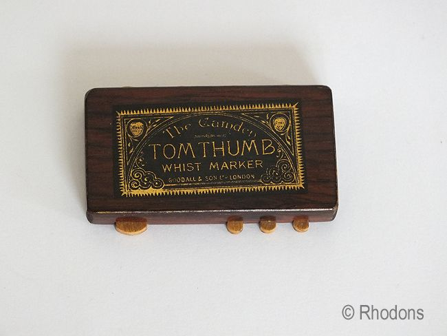 Chas Goodall Camden Miniature Tom Thumb Whist Marker (#2)