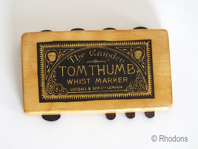 Chas Goodall Camden Miniature Tom Thumb Whist Marker (#1)