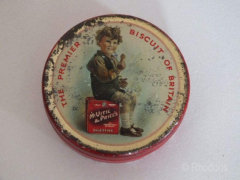 McVitie & Price Sample Biscuit Tin, The Premier Biscuit Of Britain