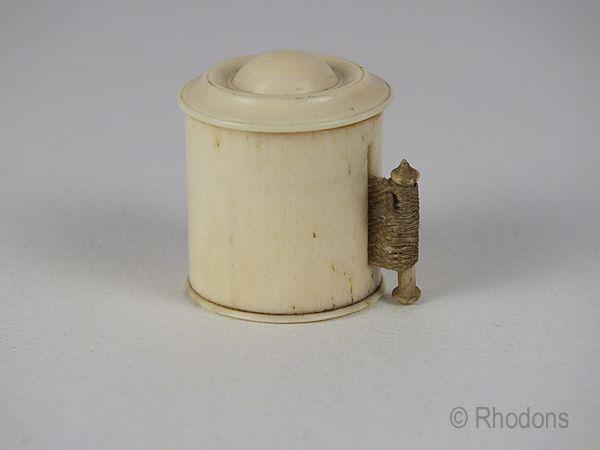 Antique Bone Tape Measure, Napoleonic POW Work