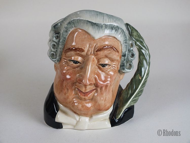 Small Royal Doulton Character Jug 'The Lawyer' - #D6504. Circa 1960s