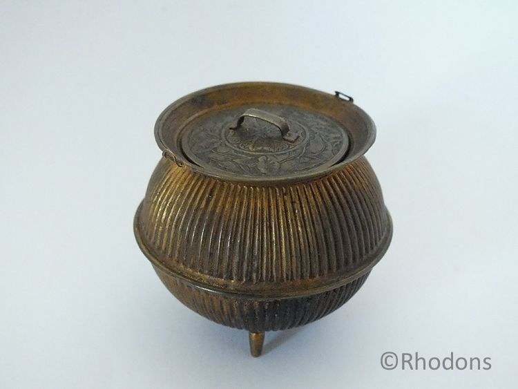 Avery Brass Cauldron / Camp Kettle Needle Case, No 623