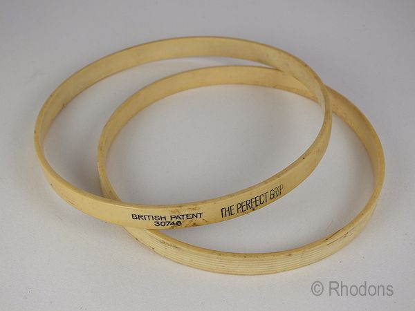 Vintage Needlecraft Hoops, Rings. The Perfect Grip, Early 1900s