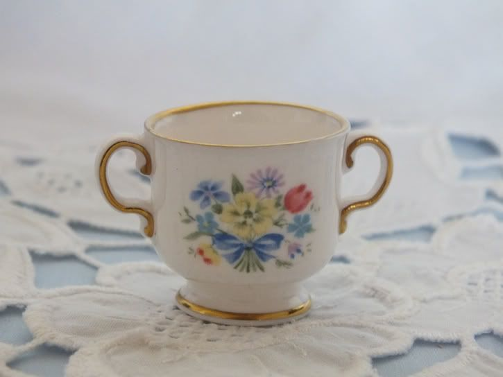 Miniature Spode Loving Cup