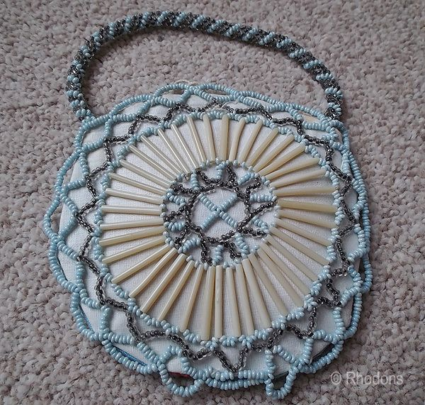 Ladies Beaded Purse, Circa 1930s