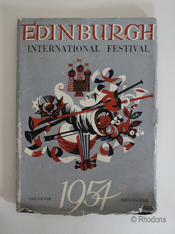 1954 Edinburgh International Festival Of Music And Drama, Souvenir Programme