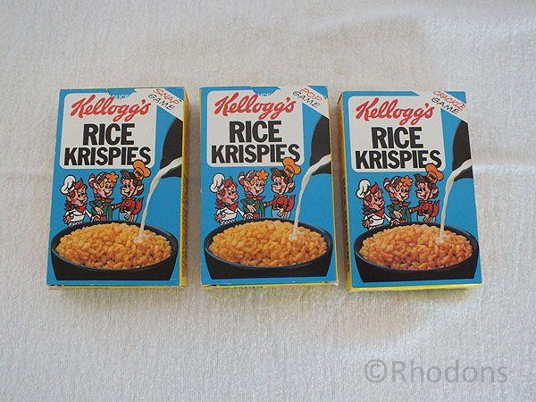 Kelloggs Card Games - Snap - Crackle - Pop