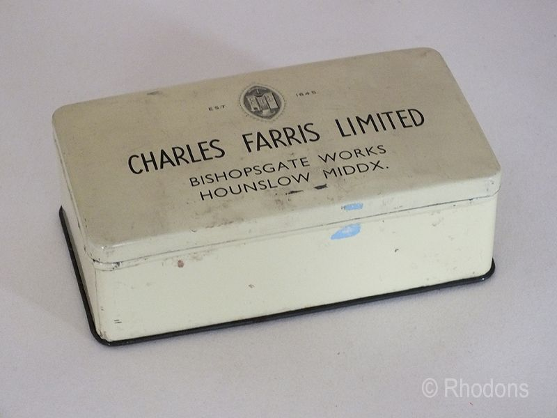 Charles Farris Ltd Church Candles Tin