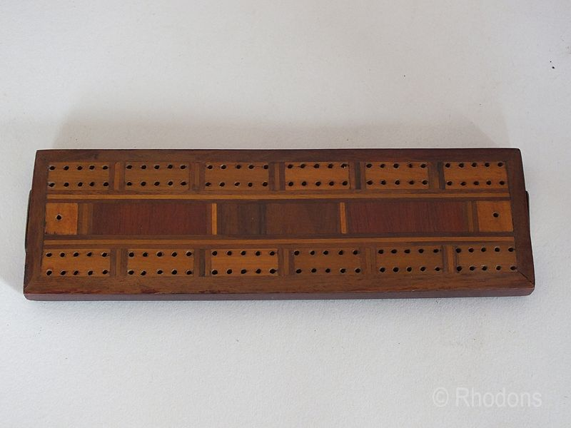 Cribbage Board By Chas. Goodall & Son Ltd. 'No 2297'.