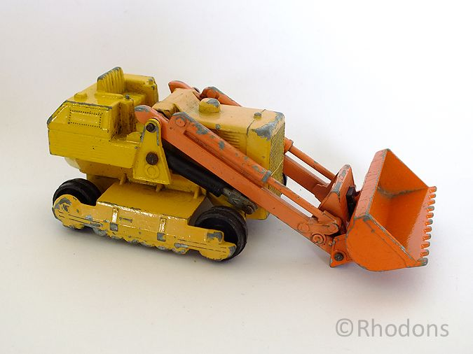 Circa 1970s Lesney Matchbox King Size Model Caterpillar Traxcavator