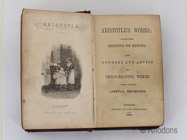 Aristotles Works Containing Directions For Midwives