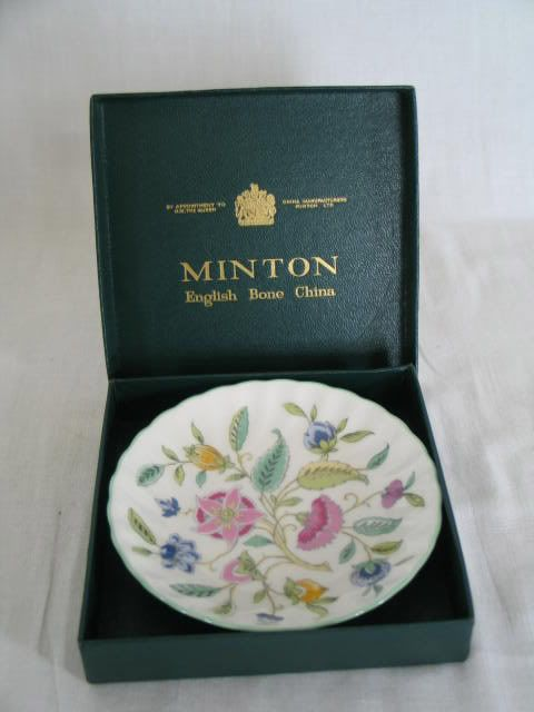 Minton Haddon Hall Trinket Dish, Sweet Dish, Boxed