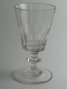 Georgian Funnel Bowl Cordial Glass
