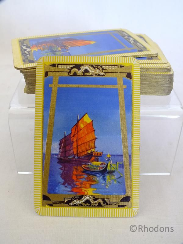 Waddington Playing Cards, Chinese Junk Motif