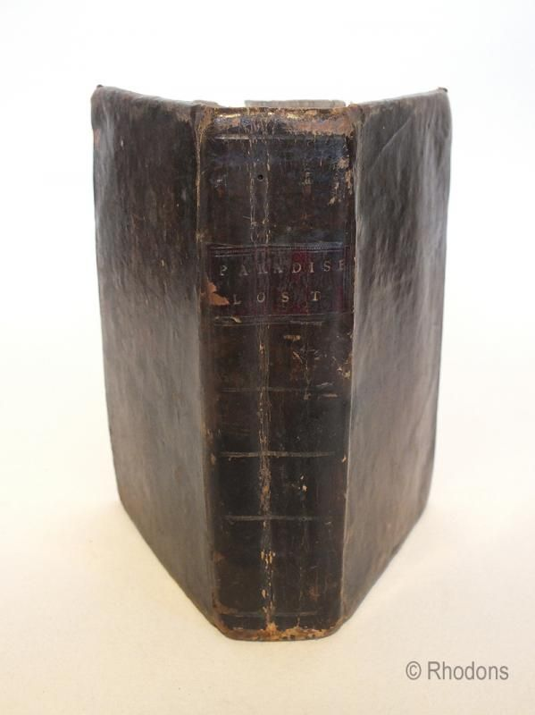 John Milton, Paradise Lost - 1792 Publication
