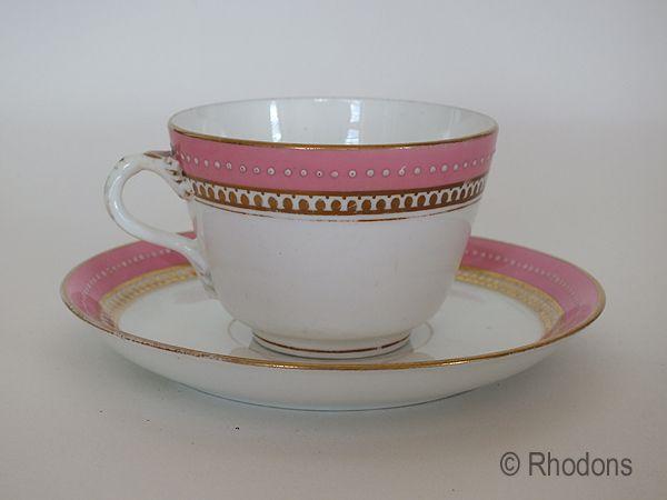 Victorian Tea Cup & Saucer
