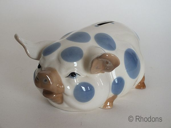 Studio Szeiler Spotted Pig Moneybox, Large Size 74/5