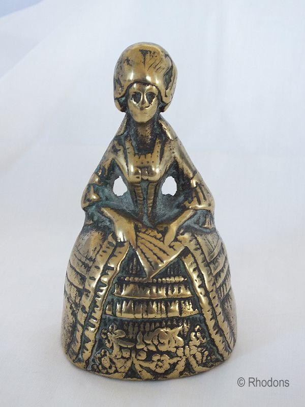Brass Lady Bell