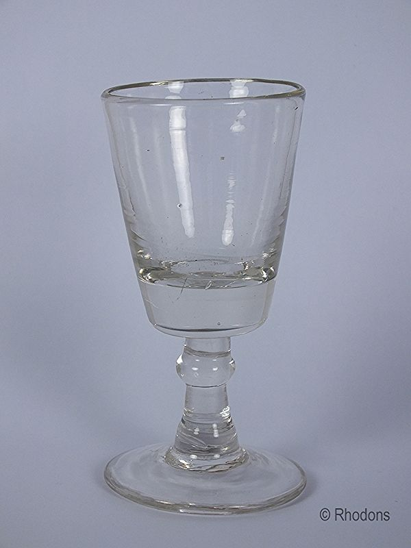 Victorian Dram Glass