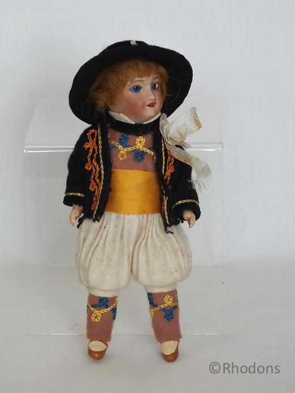 Antique French Bisque Head Boy Doll, S.F.B.J Unis, #149 301