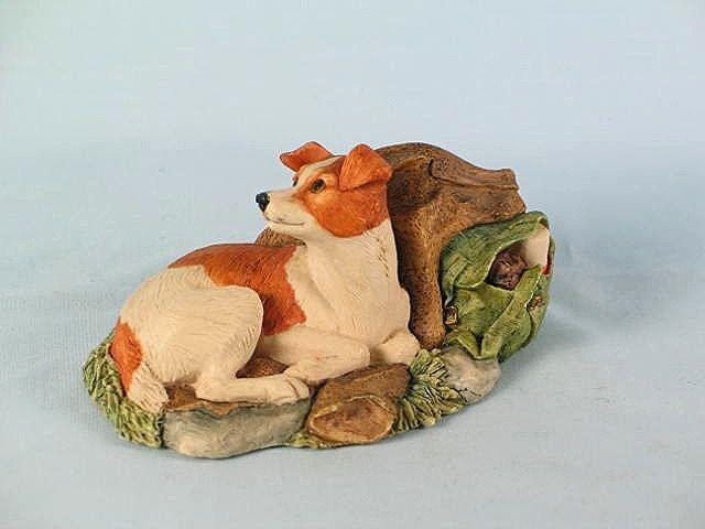 Border Fine Arts Jack Russell Terrier Dog Figure, Model # 208A