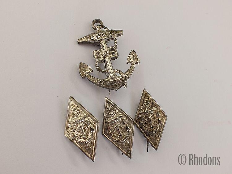 Boys Brigade Badges, Pre 1927 & 1950s Vintage
