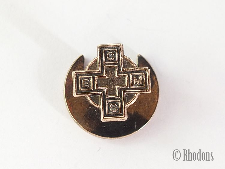 Church Of England Mens Society (CEMS) Buttonhole / Lapel Badge
