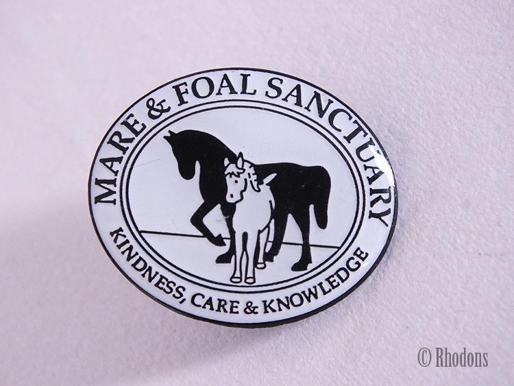 Mare & Foal Sanctuary Badge, Kindness, Care & Knowledge