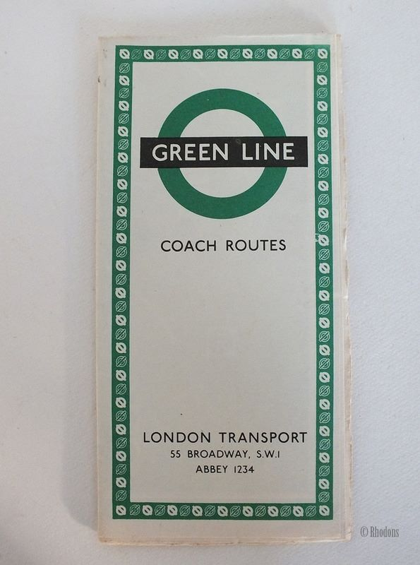 London Transport Green Line Coach Routes, 1960s