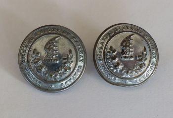 London Midland & Scottish Railway (LMS) Buttons, 25mm Diameter