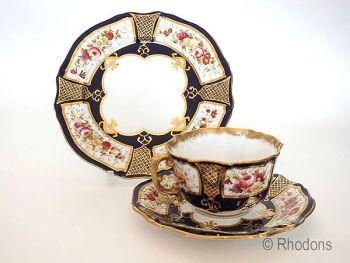 Vintage Hammersley Porcelain Trio Circa 1916-1917