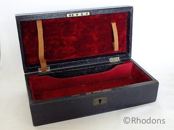 Antique Medical, Musical Instrument Case, Leather Bound