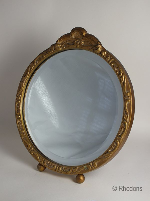Gilt Framed Table Mirror, Circa 1930s