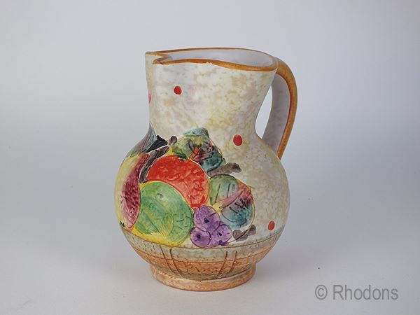 Italian Art Vase or Water Jug, Mid 20th Century, From Sorrento