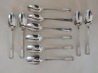 Elkington Plate Table Spoons, 7.50