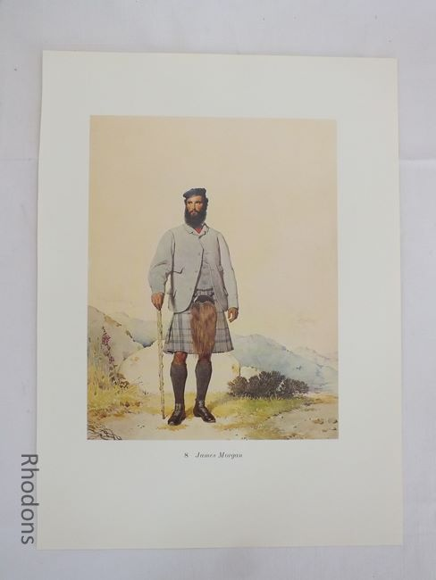 James Morgan Scottish Clansman Print By Kenneth Macleay RSA . Circa 1890s