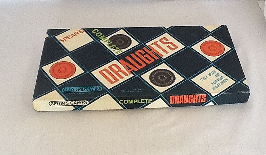 Spears Draughts Game, Circa 1960s