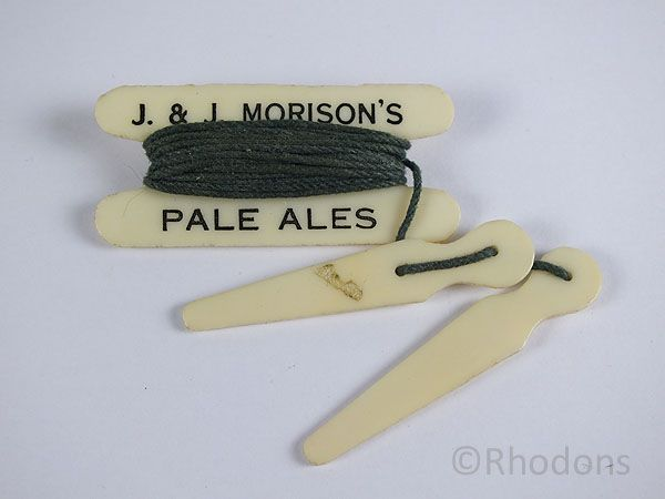 Lawn Bowls Peg & String Measure, Beer, Brewery Advertising & Promotion