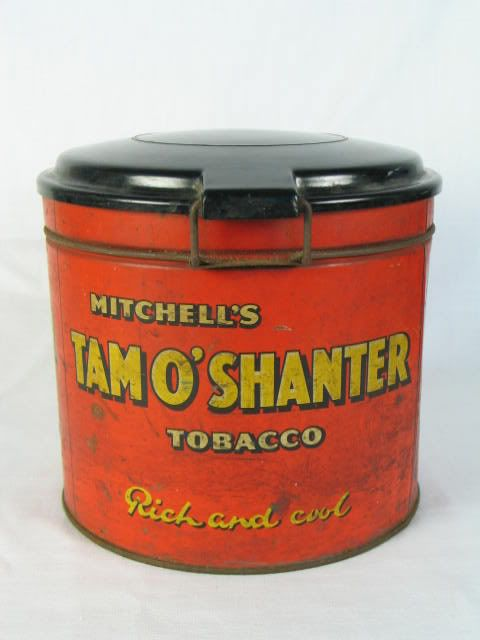 Mitchells Tobacco Tin, Tam O'Shanter Tobacco, Heather Bell Twist Tobacco