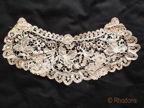 Victorian Duchesse Bobbin Lace Modesty Panel