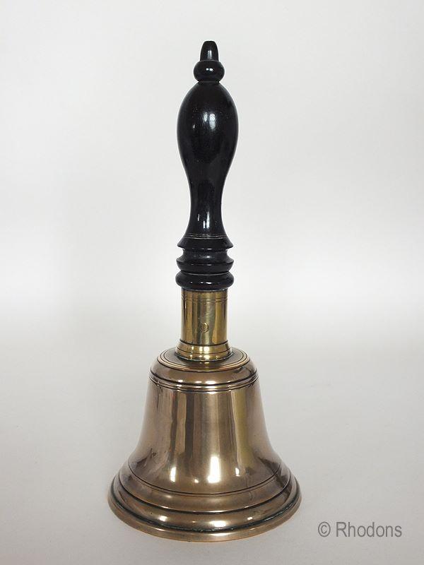 Antique Brass School Bell