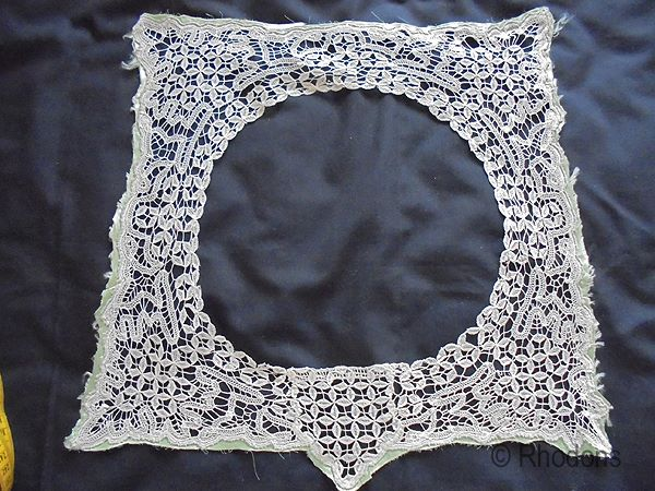 Antique Lace Collar From The Victorian, Edwardian Era