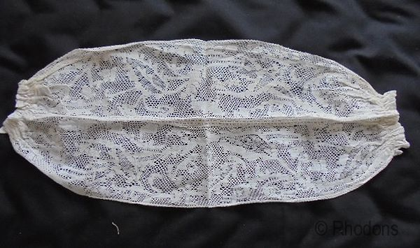 Antique Handmade Lace Choker, Circa 18th Century