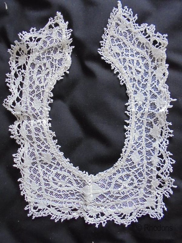 Antique Lace Bib For Baby Christening Baptism.